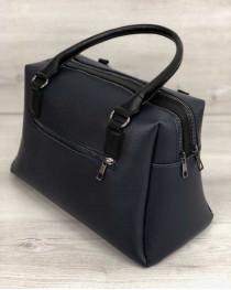 Женская сумка Агата синего цвета