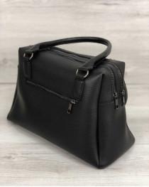 Женская сумка Агата черного цвета