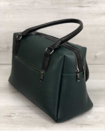Женская сумка Агата зеленого цвета