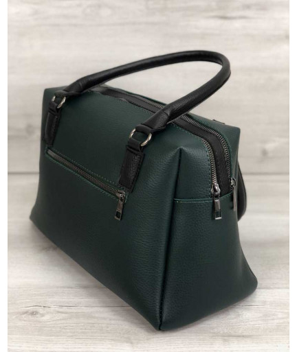 Женская сумка Агата зеленая