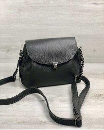 Молодежная сумка Софи серого цвета