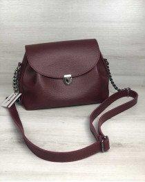 Молодежная сумка Софи бордового цвета