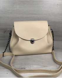 Молодежная сумка Софи бежевого цвета