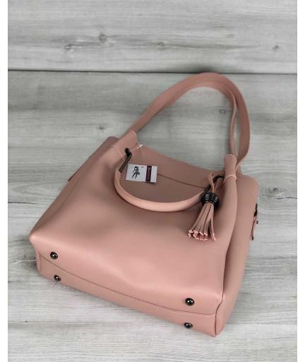 Молодежная сумка Рамона персикового цвета