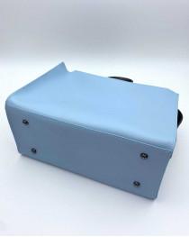 Женская сумка 2в1 Малика голубого цвета