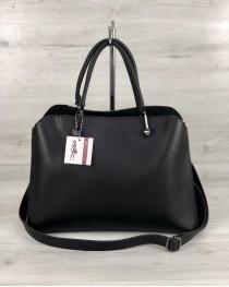 """Женская сумка """"Илария"""" черная"""