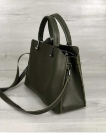 """Женская сумка """"Илария"""" оливковая"""