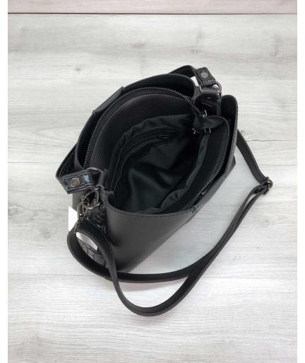 Женская сумка Илина черного цвета