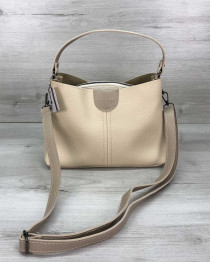 Женская сумка Илина бежевая