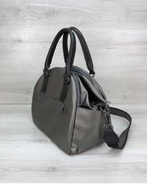 Женская сумка Элис серебро