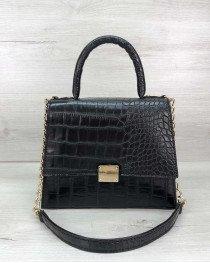 Женская сумка Лусия черного цвета