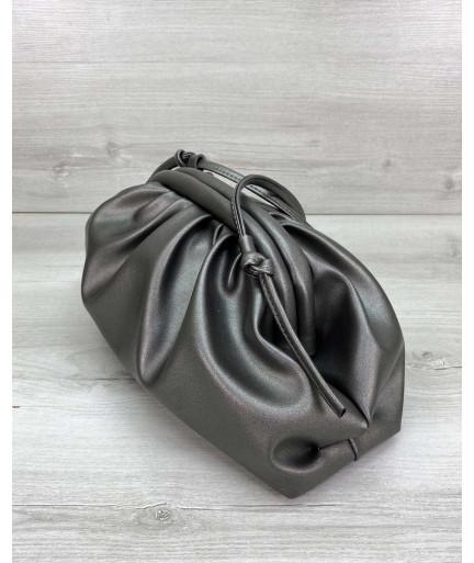 Сумка женская Bottega металлик