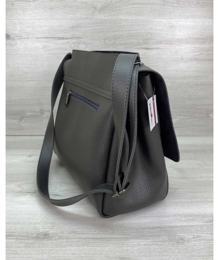 Женская сумка «Джед» серая