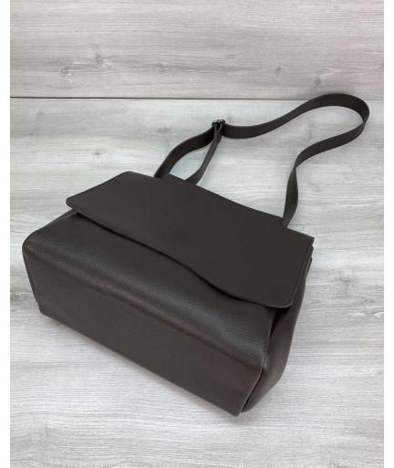 Женская сумка «Джед» коричневая