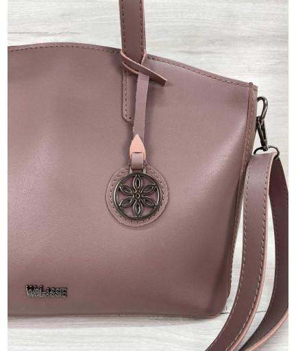 Женская сумка «Сью» лиловая