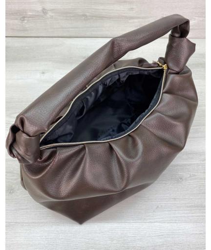 Женская сумка «Самира» шоколадная