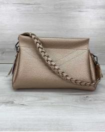 Женская сумка «Paris» золотая
