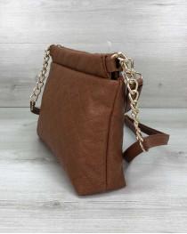 Женская сумка-клатч Ava рыжая