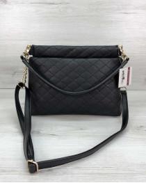 Женская сумка-клатч Ava черная