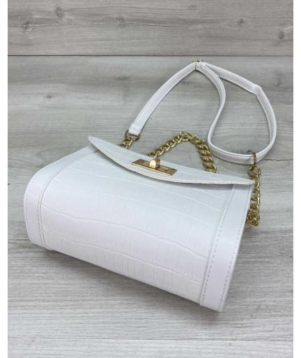 Женская сумка «Бэсс» белая