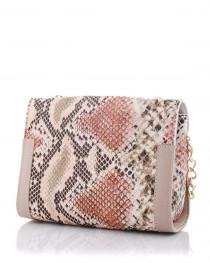Женская сумка «Бэсс» бежевая