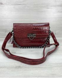 Женская сумка клатч «Келли» красная