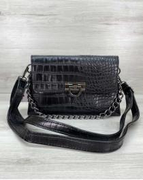 Женская сумка клатч «Келли» черная