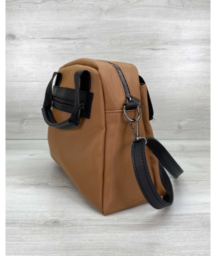 Женская сумка «Edda» рыжая