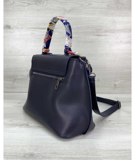 Женская сумка клатч «Лиам» темно синий