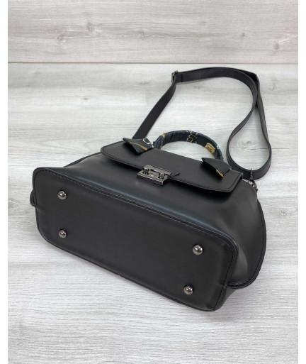 Женская сумка клатч «Лиам» черная