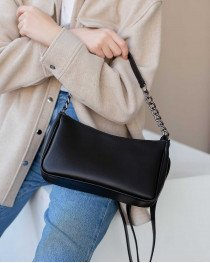 Женская сумка «Луна» черная опт от производителя