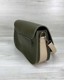 Женская сумка «Miranda» оливковая