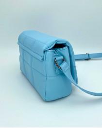 Женская сумка «Дина» голубая маленькая