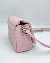 Сумка женская «Дина» розовая маленькая