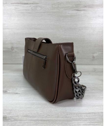 Женская сумка «Эвери» коричневая