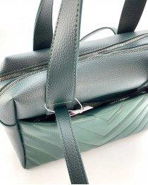 Женская сумка оптом «Грейс» темно-зеленая