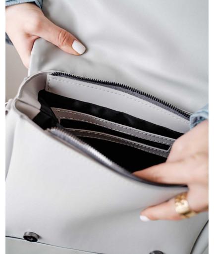 Женская сумка «Сара» серая