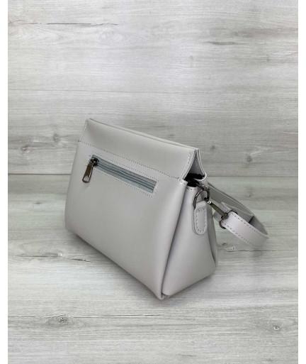 Женская сумка «Стелла» серая