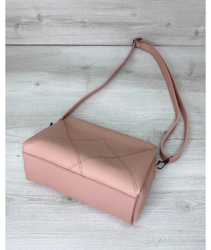 Женская сумка «Стелла» персик