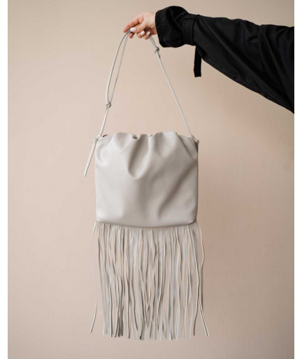 Женская сумка «Пипер» серая