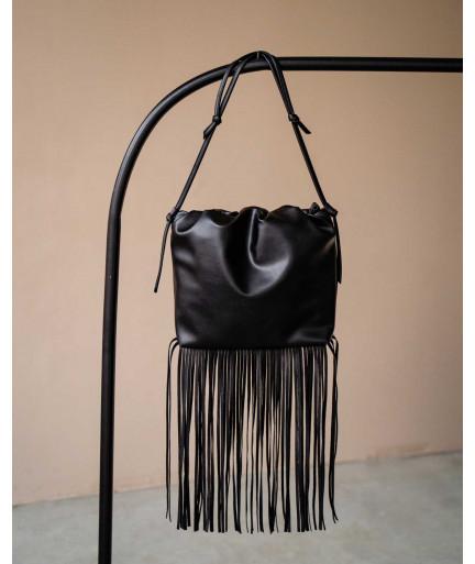 Женская сумка «Пипер» черная