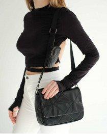 Женская сумка «Роуз» черная