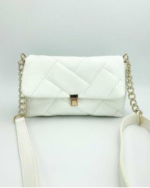 Женская сумка «Паркер» белая