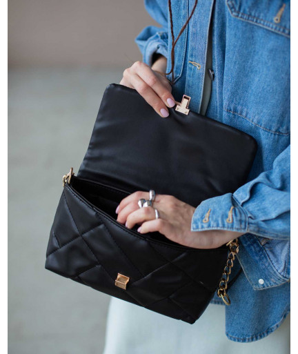 Женская сумка «Паркер» черная