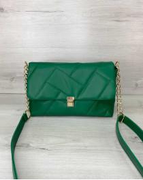 Женская сумка «Паркер» зеленая