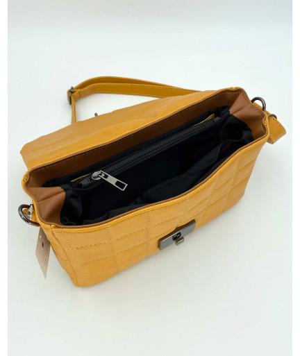 Женская сумка «Ронни» желтая