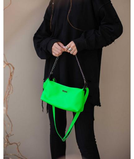 Женская сумка «Лойс» зеленая