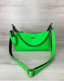 Женская сумка «Лойс» зеленая опт