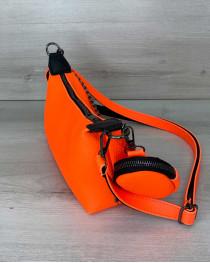 Женская сумка «Лойс» оранжевая