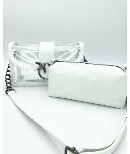 Женская сумка «Гвен» белая